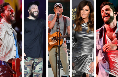 Thomas Rhett, Matthew Ramsey, Karen Fairchild, Sam Hunt, Kenny Chesney.
