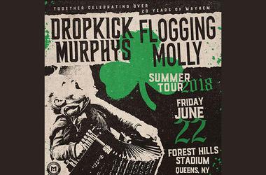 Dropkick Murphy & Flogging Molly