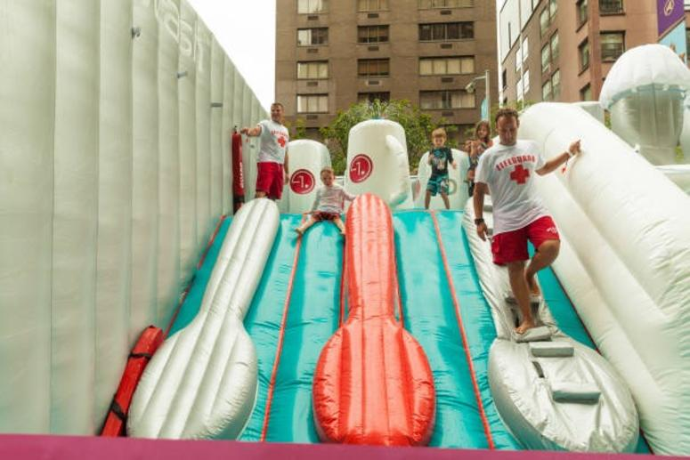 LG QUADWASH WATER PARK DURING SUMMER STREETS 2018