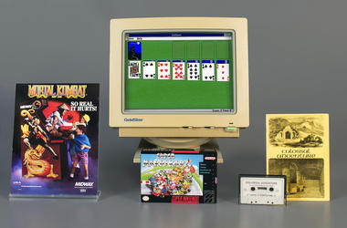 Strong Museum in Rochester, N.Y., the video games inducted into the museum's World Video Game Hall of Fame on Thursday, May 2