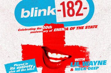 BLINK 182 Tour 2019