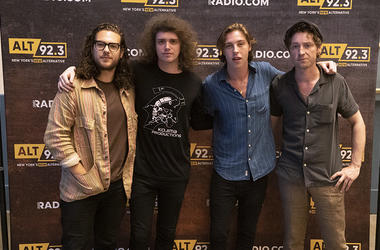 Catfish & the Bottlemen meet fans backstage at Hammerstein Ballroom
