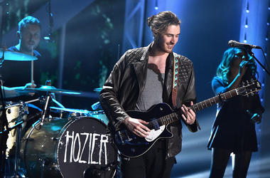 Hozier performs onstage during the VH1 Big Music in 2015