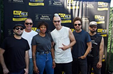 Fitz and the Tantrums Meet Fans at ALT 92.3 Summer Open Set 1