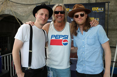 The Lumineers Meet Fans at ALT 92.3 Summer Open Set 1