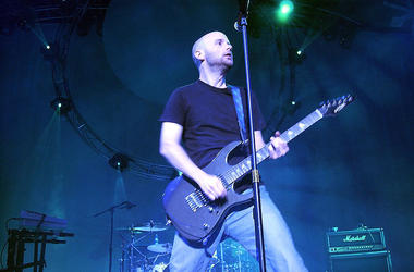 Moby with Guitar