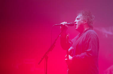 Robert Smith of The Cure performs at Sydney Opera House on May 24, 2019