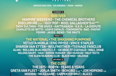 Mad Cool Festival Line Up