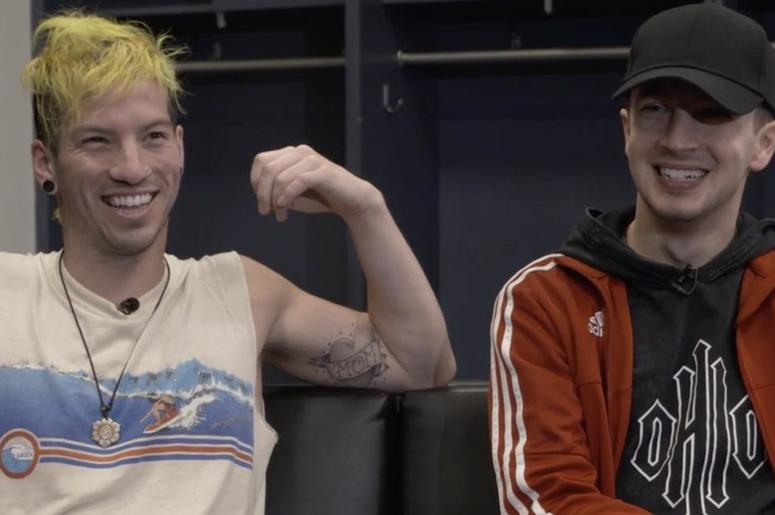Twenty One Pilots- Josh Dun and Tyler Joseph