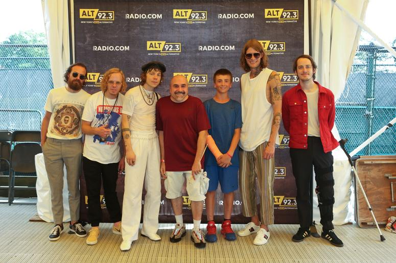 Cage The Elephant Meet Fans at Forest Hills Stadium