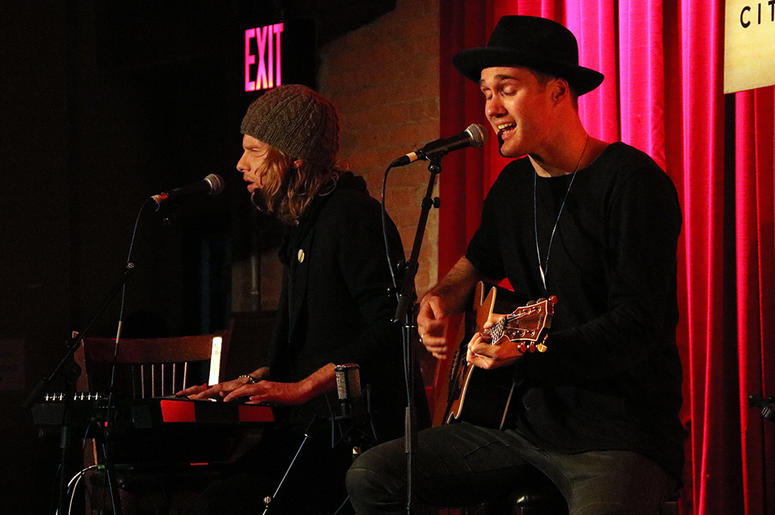 Bob Moses Perform at ALT Pop Up Sessions at City Winery