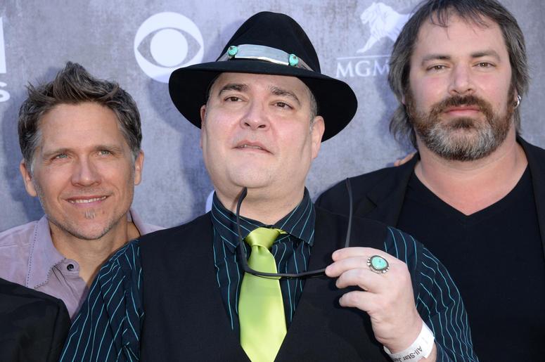 Musicians Brendan Hill, John Hopper, and Chan Kinchla