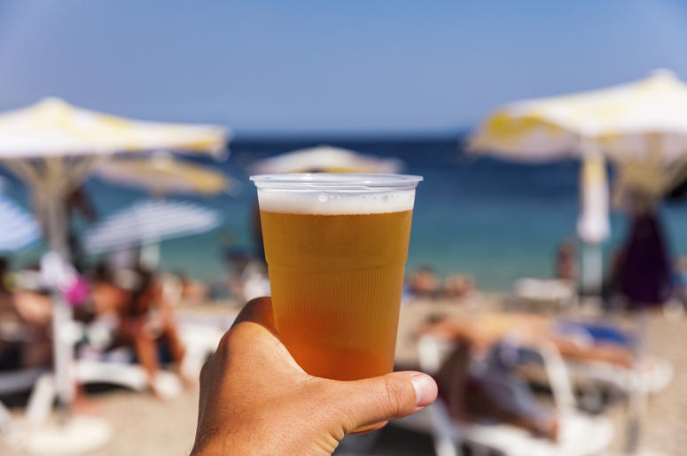 Beer at the Beach