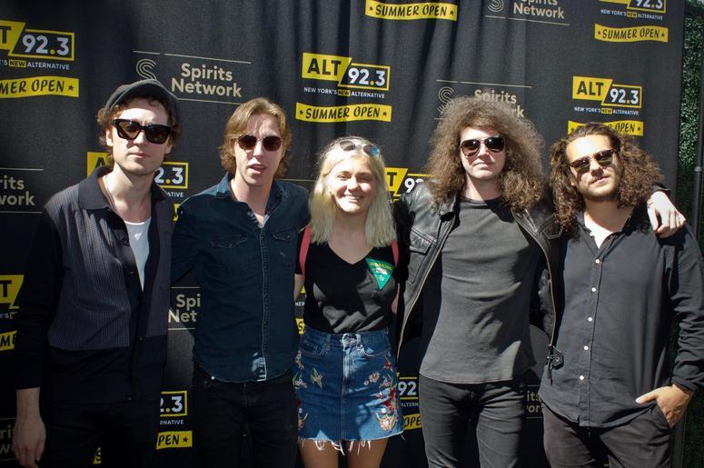 Catfish & the Bottlemen Meet Fans at ALT 92.3 Summer Open Set 1