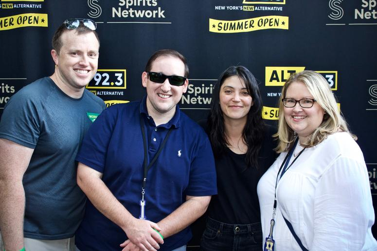 Sharon Van Etten Meets Fans at ALT 92.3 Summer Open Set 1