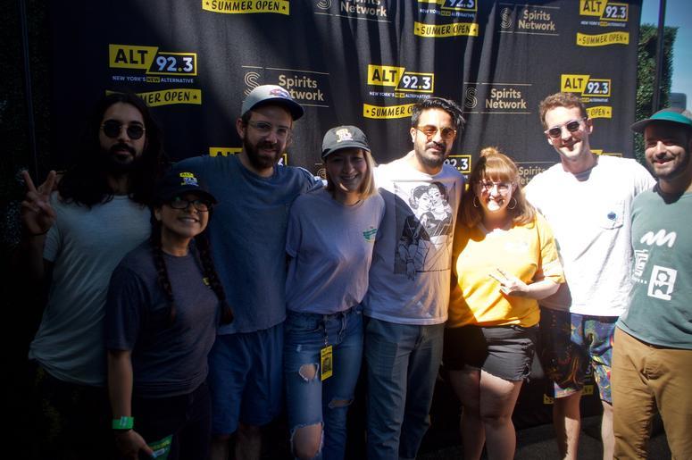 Young The Giant Meet Fans at ALT 92.3 Summer Open Set 2