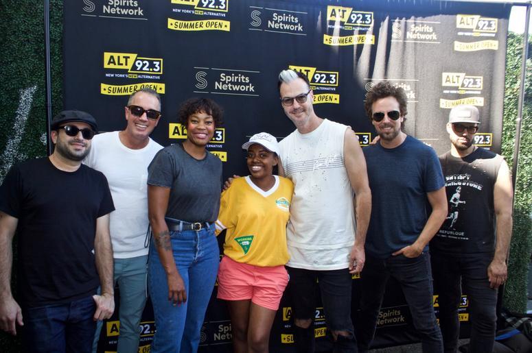 Fitz and the Tantrums Meet Fans at ALT 92.3 Summer Open Set 1