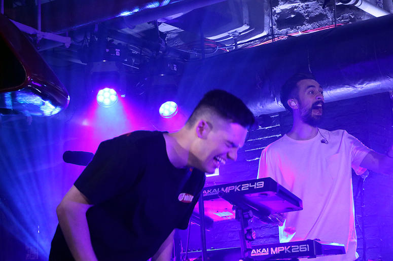 Bastille Perform at Chelsea Music Hall for RADIO.COM's 'Doom Days' Album Release Party