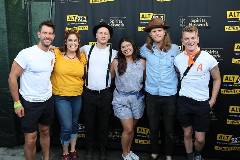 The Lumineers Meet Fans at ALT 92.3 Summer Open Set 1