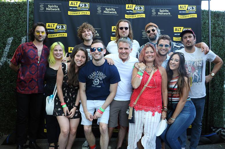 The Head and The Heart Meet Fans at ALT 92.3 Summer Open Set 2