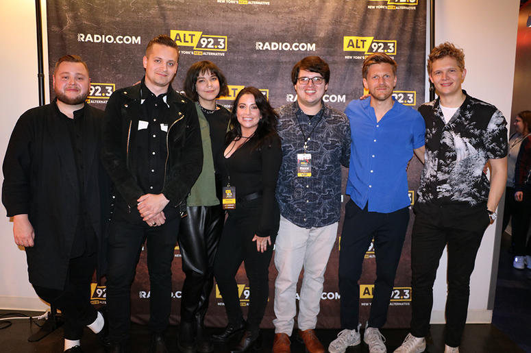 Of Monsters and Men meet fans at ALT 92.3's Pop Up Session on May 14th, 2019 at the RADIO.COM Theatre in NYC