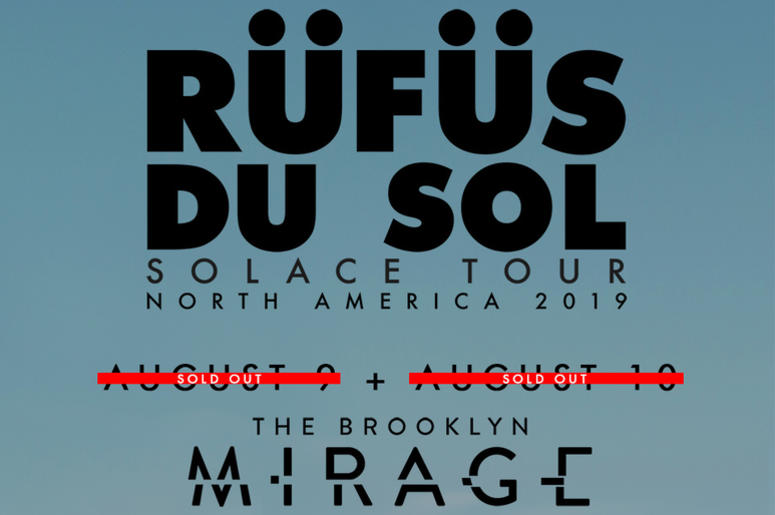 Rufus Du Sol Tour 2019