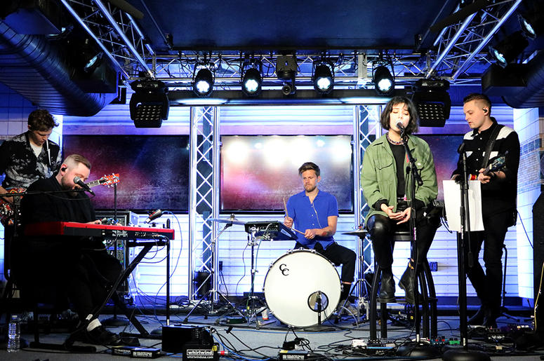 Of Monsters and Men Perform at ALT Pop Up Sessions