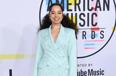 Ella Mai. 2018 American Music Awards - Arrivals held at the Microsoft Theater.