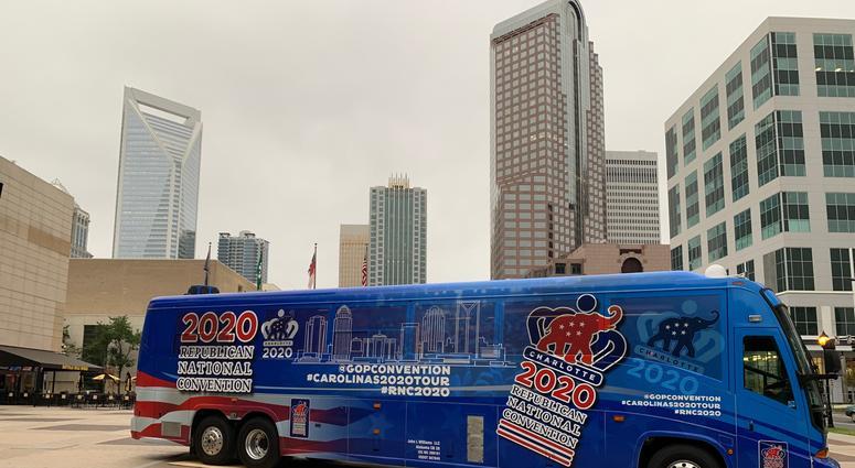 RNC 2020 Promotion Tour Bus