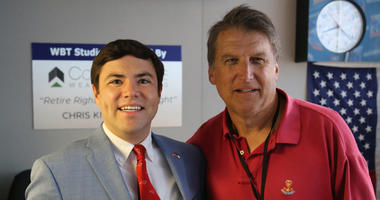 Mark Johnson joined the Pat McCrory Show