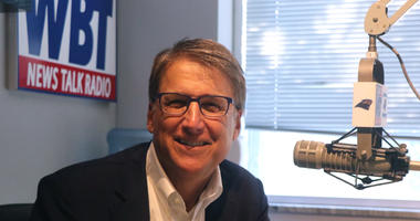 Pat McCrory Talks with Mark Harris Post District 9 Controversy