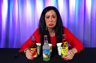 Kelly Tries: Bacon, Ranch Dressing and Sweet Corn Flavored Sodas
