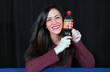 Kelly Tries: Orange Vanilla Coke