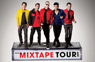 New Kids On The Block Mix Tape Tour