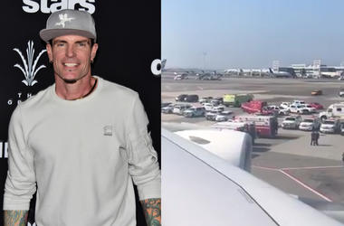 Vanilla Ice Aboard Quarantined Plane at JFK