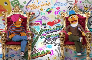 WATCH: Bert & Ernie Explain How They Became Sesame Street Roomies