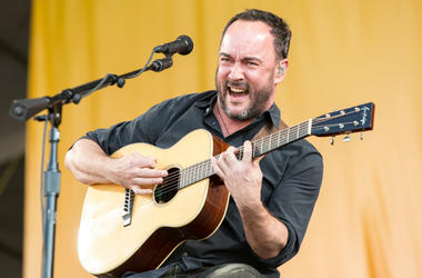 Dave Matthews of Dave Matthews and Tim Reynolds at New Orleans Jazz & Heritage Festival at Fair Grounds Race Track on May 5, 2017, in New Orleans, Louisiana.