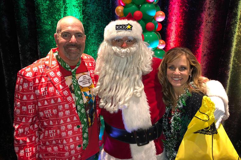 Bubba Show with Santa