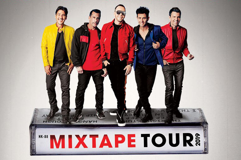 New Kids On The Block Mix Tape Tour