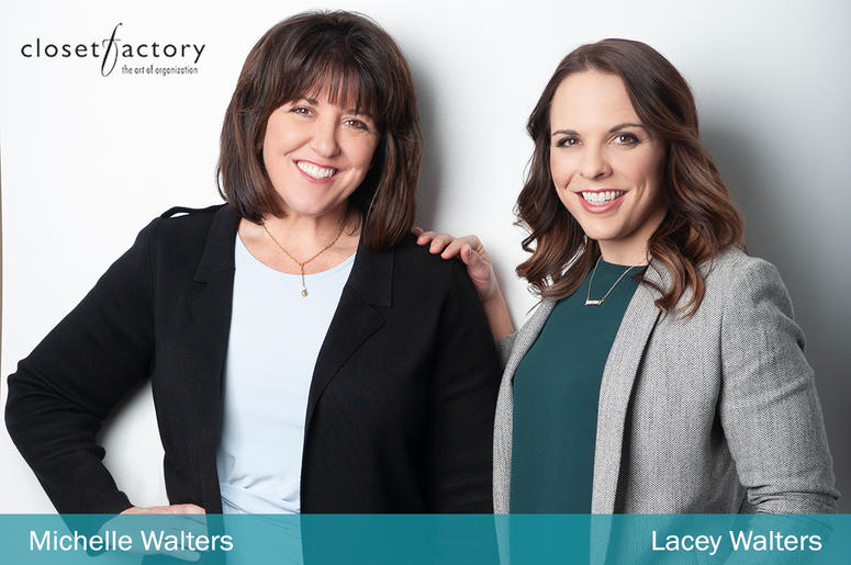 Closet Factory Michelle Walters and Lacey Walters