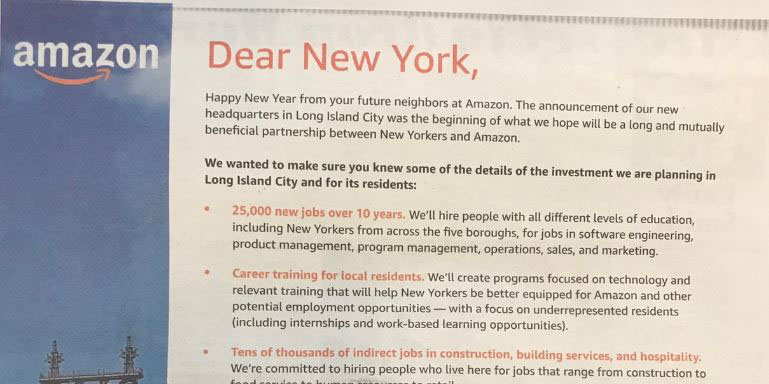 Amazon Makes Appeal To New Yorkers In New Ad | WCBS
