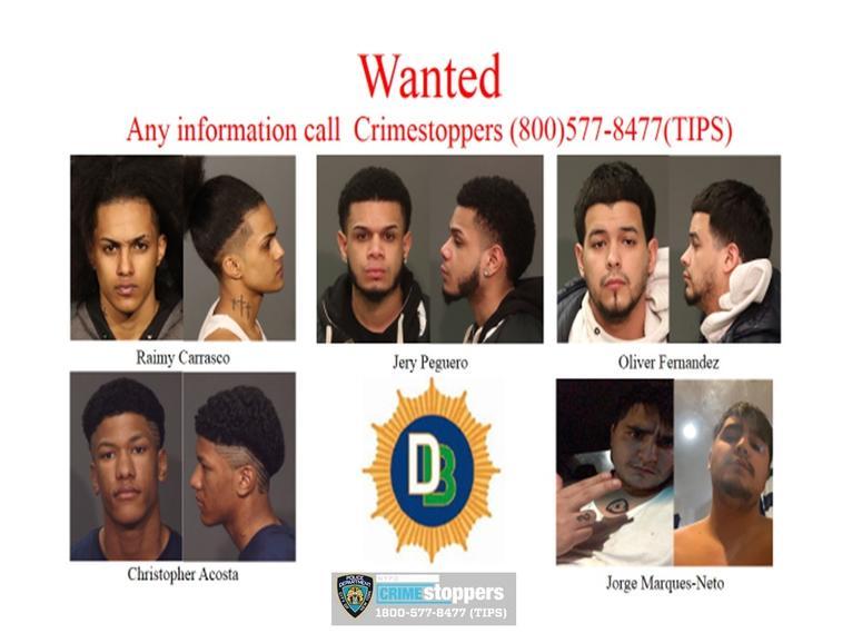 Wanted Trinitarios gang members