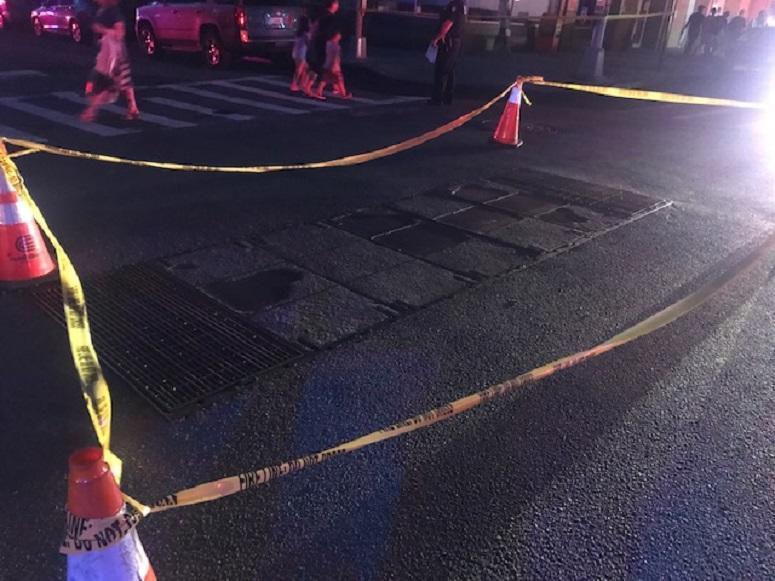 Manhole Fire Manhattan outage
