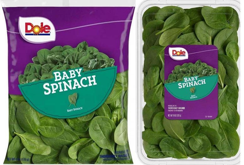 baby spinach recall