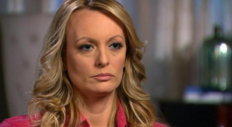 "Stormy Daniels on ""60 Minutes"""