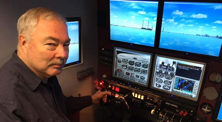 Stories From Main Street: Super-Realistic Flight Simulator Poised To