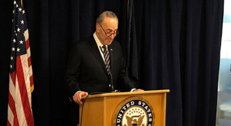 Senate Minority Leader Charles Schumer