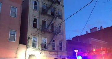 Belmont, Bronx Fire