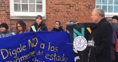 Councilman Daniel Dromm: State Test Protest