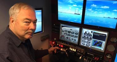 Jim Parker And His Flight Simulator